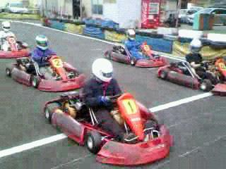 Kartoff♪ Exhibition Race カートオフ エキシビションレース City Kart シティカート Rental レンタルカート Start スタート