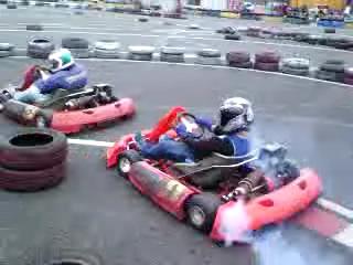 Kartoff♪ Sprint Race Normal Movie カートオフ  スプリントレース ノーマル City Kart CityKart シティカート Rental レンタルカート 映像 動画 煙 煙幕 もくもく モクモク ラリーX スモーク Smoke ナムコ NAMCO