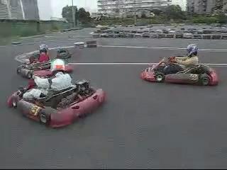 Kartoff♪ Sprint Race Normal Movie カートオフ  スプリントレース ノーマル City Kart CityKart シティカート Rental レンタルカート 映像 動画 1コーナー 3車 接近