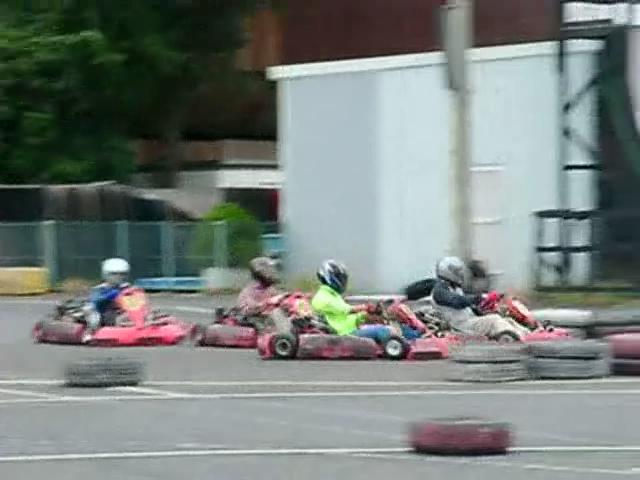 Kartoff♪体験型 Vol.80 Sprint Race スプリントレース Chicane シケイン 5台 密集 隊列 並走 サイドバイサイド Side By Side シティカート レンタルカート MotorSports モータースポーツ Kart CityKart City Kart