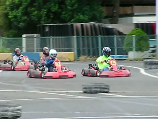 Kartoff♪体験型 Vol.80 Sprint Race スプリントレース Chicane シケイン 4台 密集 隊列 並走 サイドバイサイド Side By Side シティカート レンタルカート MotorSports モータースポーツ Kart CityKart City Kart