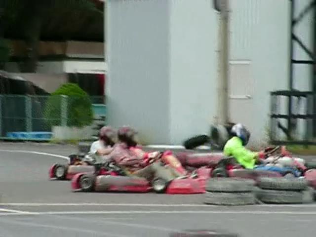 Kartoff♪体験型 Vol.80 Sprint Race スプリントレース Chicane シケイン 3台 並走 サイドバイサイド Side By Side シティカート レンタルカート MotorSports モータースポーツ Kart CityKart City Kart