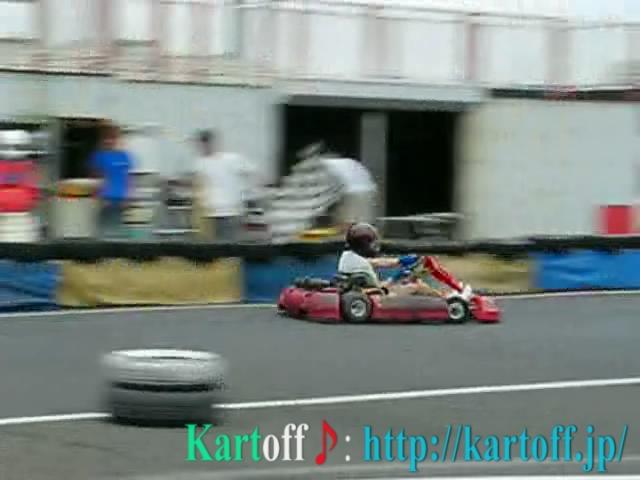 Kartoff♪体験型 Vol.80 Sprint Race スプリントレース Goal ゴール Checker Flag チェッカーフラッグ 先頭 Top トップ シティカート レンタルカート MotorSports モータースポーツ Kart CityKart City Kart