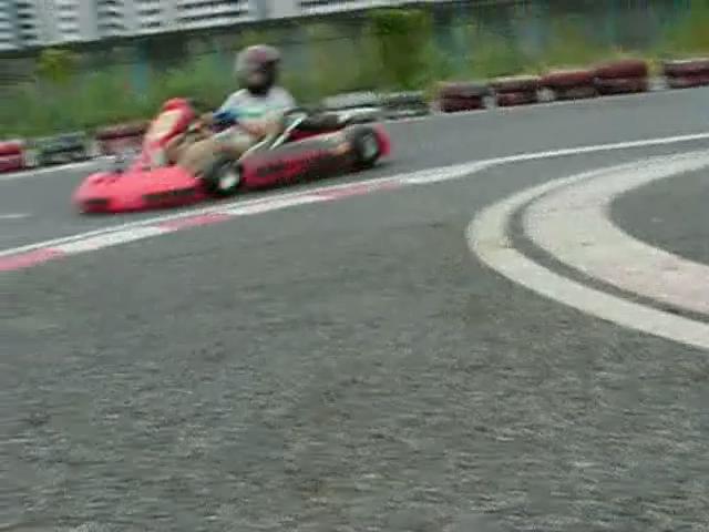 Kartoff♪体験型 Vol.80 Sprint Race スプリントレース インフィールド Infield 地面 Ground 低視点 Up アップ コーナーリング Cornering シティカート レンタルカート MotorSports モータースポーツ Kart CityKart City Kart