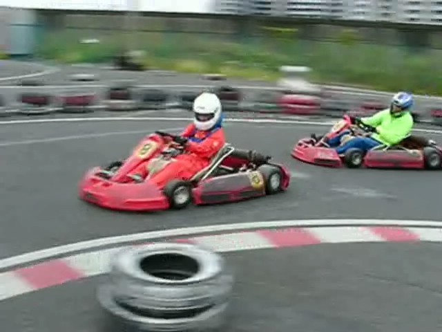 Kartoff♪体験型 Vol.80 Sprint Race スプリントレース インフィールド Infield 2台 接近 シティカート レンタルカート MotorSports モータースポーツ Kart CityKart City Kart