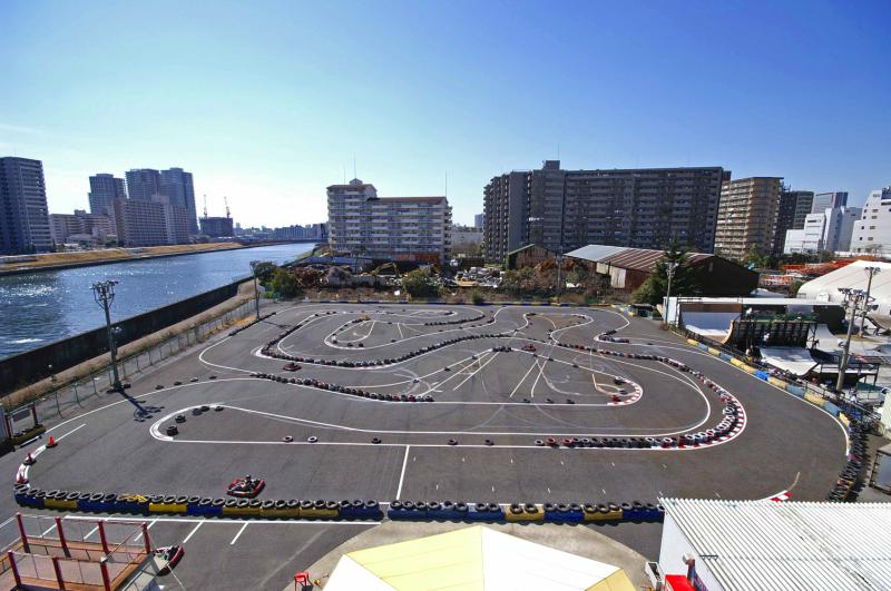 シティカート City Kart CityKart 2007 Course コース 俯瞰 Bird View レンタルカート Rental Kart