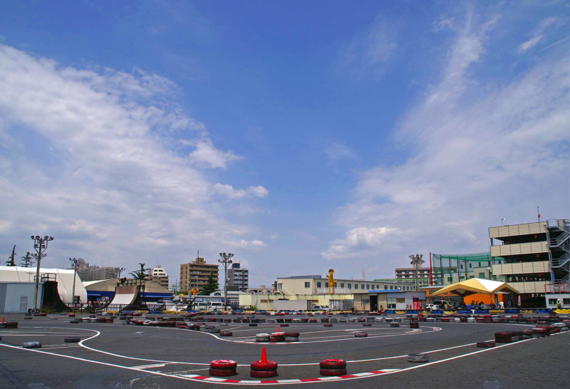 City Kart CityKart シティカート Course コース全景 レンタルカート Rental Kart 青空 Blue Sky
