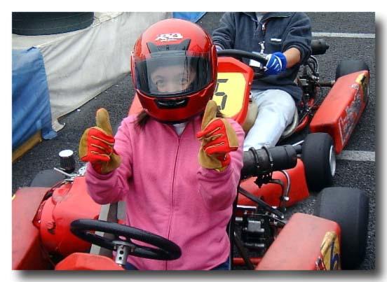 Kartoff♪ 女性 乗車 ピット Pit CityKart シティカート